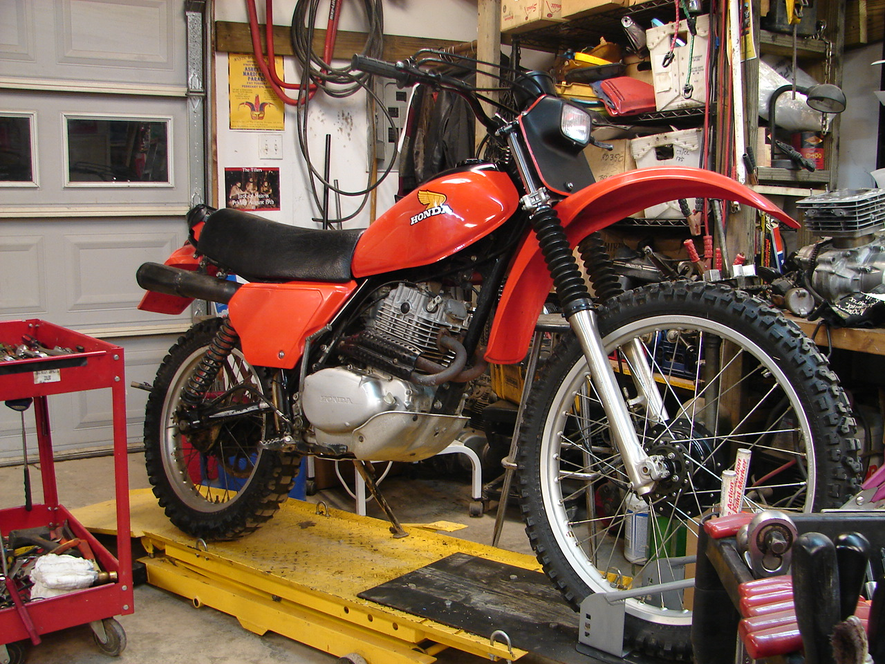 1980 Honda XR250